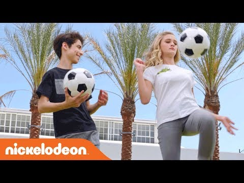 Get Up & Play w/ Lizzy Greene, Aidan Gallagher & the Rest of NRDD ⚽️  | Worldwide Day of Play | Nick
