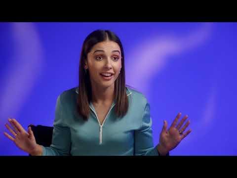 """Aladdin: Naomi Scott """"Jasmine"""" Behind the Scenes Movie Interview"""