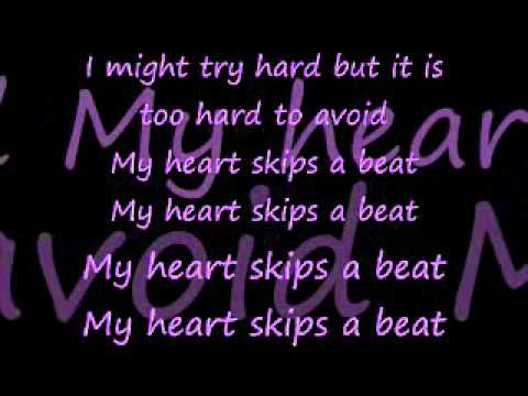 Heart Skips A Beat-Lenka lyrics