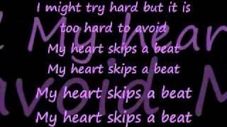 Heart Skips A Beat-Lenka lyrics