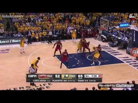 Heat vs Pacers 2014 ECF Game 1