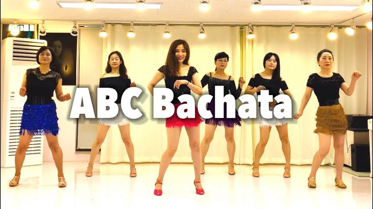 ABC Bachata line dance(Beginner)누구나 할수 있어요 바차타💃💖