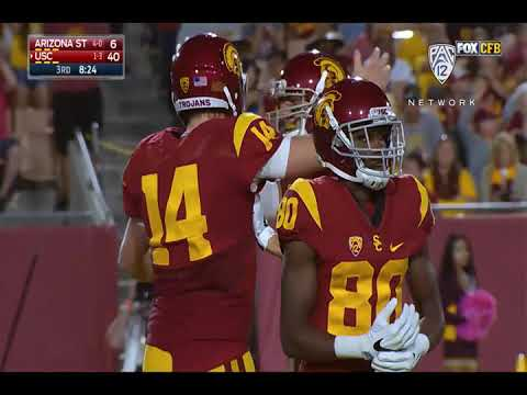 USC takes control early and then routs Arizona State