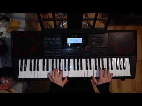 Teach-In I'm Alone (кавер на синтезаторе)