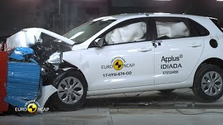 Hyundai i30 Crash Test Euro NCAP | Rating: ★★★★★