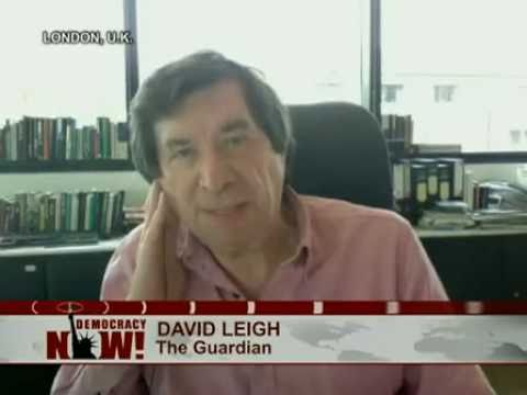David Leigh: The Guardian Newspaper Editor Defends Publishing WikiLeaks' Secret Guantanamo Files