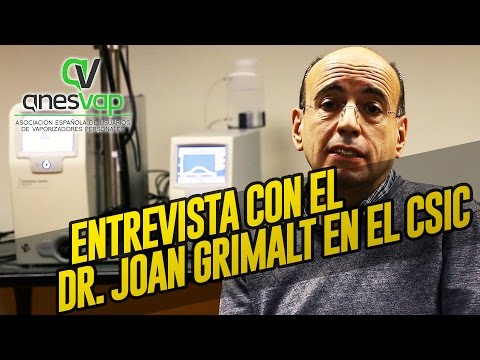 Entrevista con el Dr. Joan Grimalt en el CSIC - participando en su estudio / LTDM cap 58