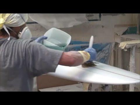 Surfboard Hot / Filler Coating by ROCKYSURFBOARDS