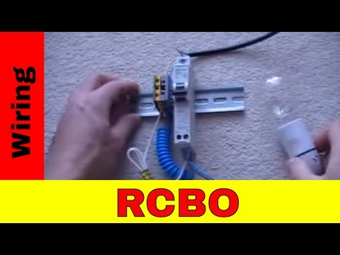How to wire RCBO - YouTube Nhp Rcd Wiring Diagram on
