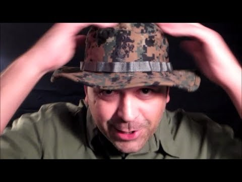 c53a07c2b855d The USMC Boonie Hat Review - YouTube
