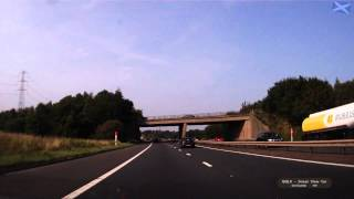 QQLX 0198 SCOTLAND - Road M9 junction ro J9 - Street View Car 2014