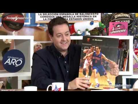 COLGADOS DEL ARO T4 -  Las cartulinas. Españoles en la NBA - Semana 8 #Cda123