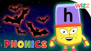 Phonics - #Halloween Season | Learn to Read | H Is for Halloween | Alphablocks | Wizz
