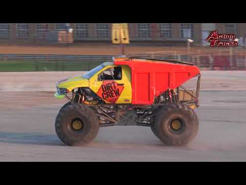 TMBTV: ActionTracks 8.6 Indianapolis, IN 2017: Monster Truck Thunder Drags - FINALE - EPISODE 2
