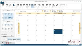 ms outlook 2013 how to print calendars and contacts demo(In this demo, we will learn how to print calendars and contacts in MS Outlook 2013., 2013-07-03T08:09:41.000Z)