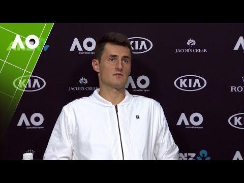 Bernard Tomic press conference (3R) | Australian Open 2017