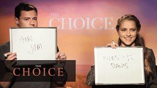 "The Choice (2016 Movie - Nicholas Sparks) – ""The Newlyfriend Game"""