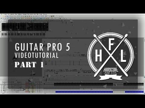HFL How To. Guitar Pro 5. Вступительный урок.