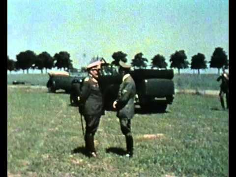 Color Footage Of Adolf Hitler And Hermann Goering