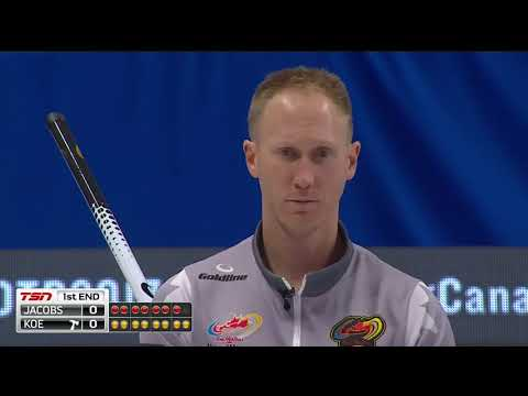 2017 Tim Hortons Roar of the Rings - Koe vs. Jacobs - Draw 3