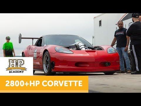 Why 45 PSI And 2800HP Needs Aero | Corvette [TECH TOUR]