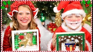 Santa Vs. Mrs. Claus Challenge and Costumes
