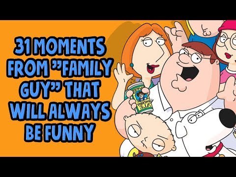 """31 Moments From """"Family Guy"""" That Will Always Be Funny"""