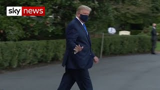 Donald Trump taken to hospital after COVID-19 diagnosis