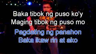 Pagdating ng panahon - Aiza Seguerra (karaoke, instrumental, minus1 with lyrics)