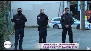 Köze van a terrorizmushoz a párizsi késes támadásnak