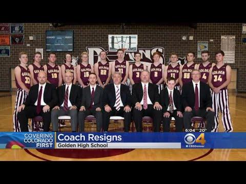 Golden High School Boys Basketball Coach Resigns