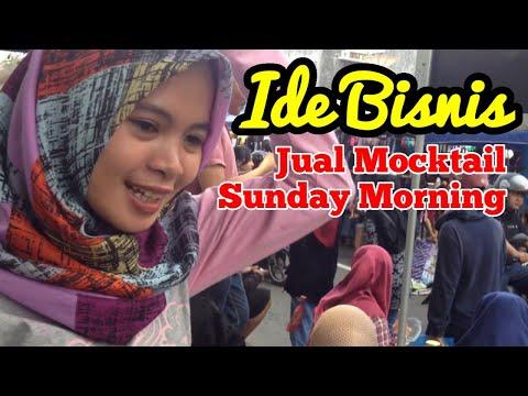 Mahasiswa Kreatif Jualan Es Mocktail Di Sunday Morning Market