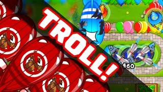 Bloons TD Battles - IM THE BEST TROLL EVER! SPYING ON THE ENEMY- BTD Battles