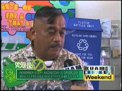 Guam Energy Office donating recycle bins to GovGuam agencies