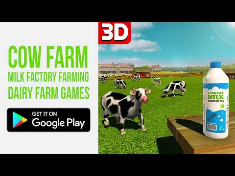 Cow farm milk For Pc - Download For Windows 7,10 and Mac