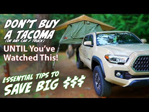 Buying tips for the new 2020 & 2019 Toyota Tacoma TRD Off Road / TRD  Pro, How to save