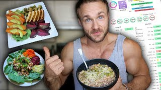 EATING TO STAY STRONG & LEAN + FULL DAY NUTRIENT ANALYSIS