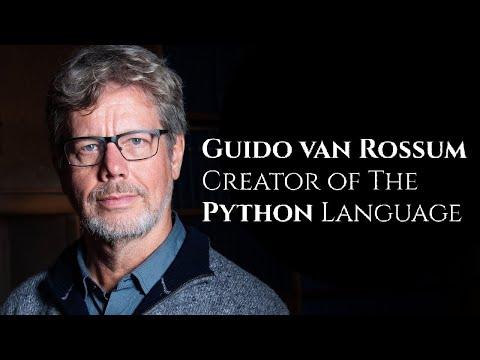 Guido van Rossum - Creator of Python (#Shorts)