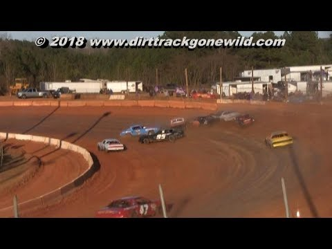 Pure Stock Main @ Cherokee Speedway March 3rd 2018