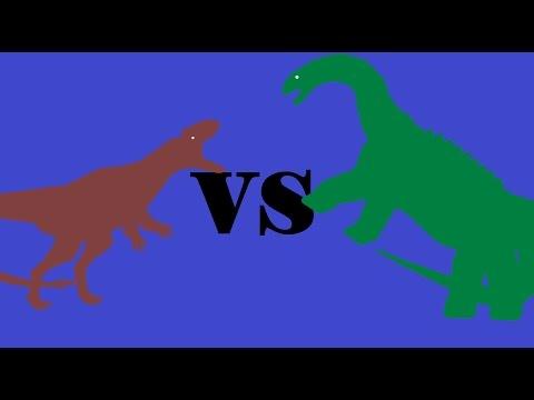 Dryptosaurus Vs Saltasaurus