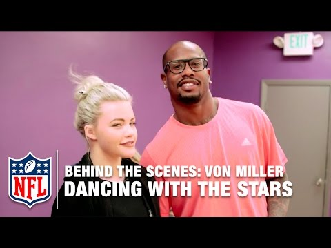 Von Miller: Dancing With The Stars Behind The Scenes | NFL