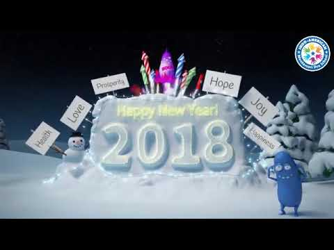 Happy New Year 2018 | Indo American Montessori Pre School - A Play School