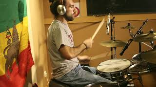 XALS (forward ever band drummer) - different styles of reggae drums medley