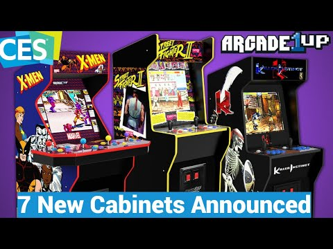 Arcade1Up CES 2021 All The New Cabinet Announcements - Killer Instinct, X-Men, And More! from UrGamingTechie