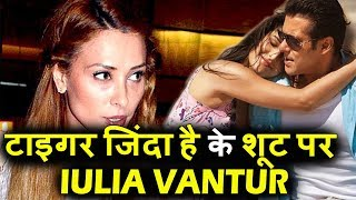 Salman और Katrina को Joine किया Gf Iulia ने Tiger Zinda Hai के Final शूट पर