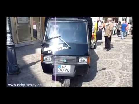 Piaggio Ape - Dreirad Transporter mit Roller Motor