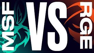 MSF vs. RGE - Week 2 Day 1 | LEC Summer Split | Misfits Gaming vs. Rogue (2021)