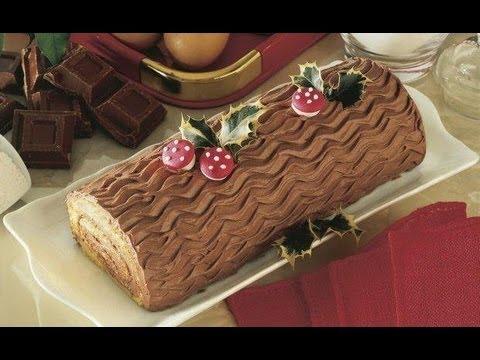 Come Decorare Un Tronchetto Di Natale.Tronchetto Al Cioccolato Fatto In Casa Delicato E Soffice