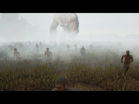 100 ЗОМБИ В ТУМАНЕ ПРОТИВ ОДНОГО БОЙЦА!! - Playerunknown's Battlegrounds
