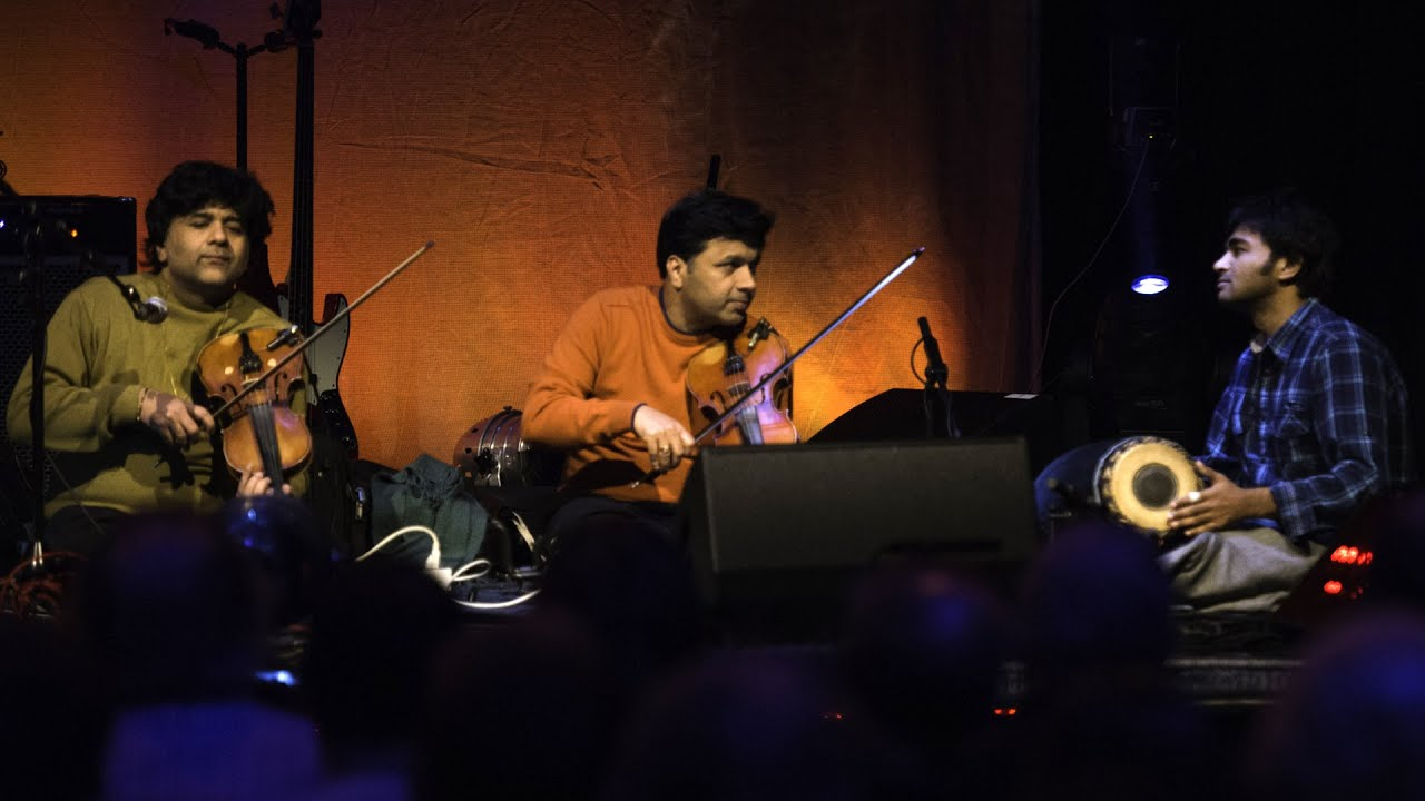 Ganesh and Kumaresh - Raga Kalyani (Live at Celtic Connections 2015)